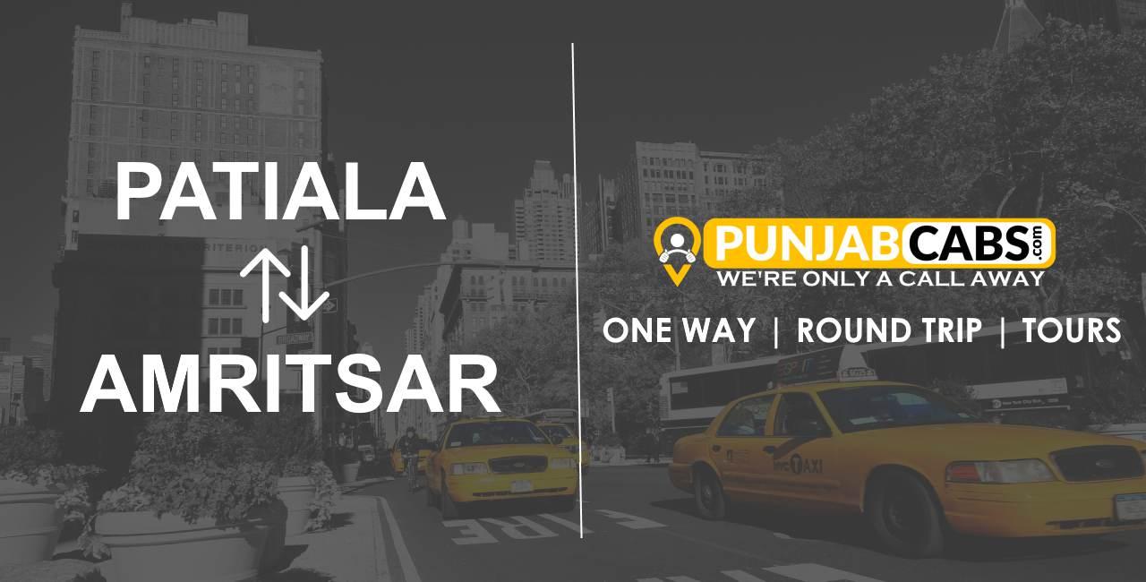 Taxi Patiala to Amritsar